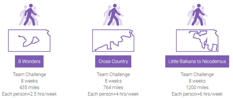 Walk KS challenges